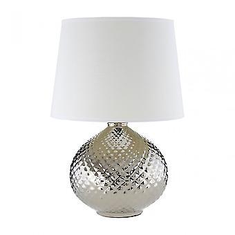 Premier Home Hetty Table Lamp, Silver