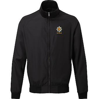 Royal Scots Veteran - Licensed British Army Embroidered Harrington Jacket