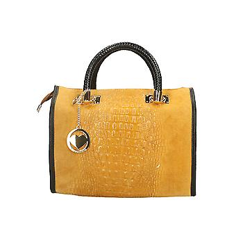 Leather handbag Made in Italy P80044