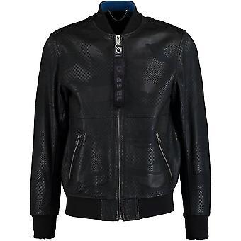Diesel L-Parker 900 Leather Jacket