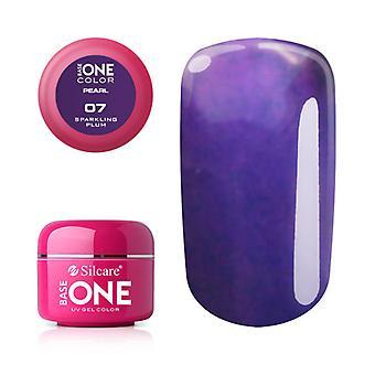 Base one-Pearl-Sparkling plum 5 g UV-gel