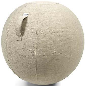 Vluv Stov Stoff-Sitzball Durchmesser 70-75 cm Kiesel / Hellbeige
