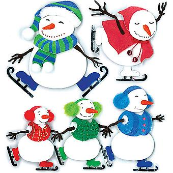 Jolee's Boutique Dimensional Stickers Ice Skating Spjb 867