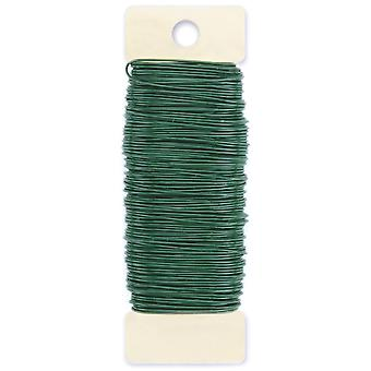 Paddle Wire 22 Gauge 4 Ounces Pkg Green 522200