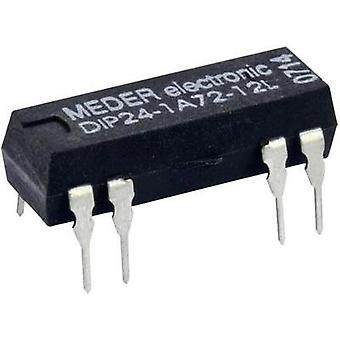 Reed relay 1 maker 5 Vdc 0.5 A 10 W DIP 8