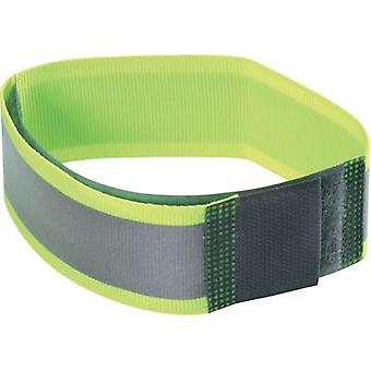 Hook-and-loop tape with reflector, sew-on Hook and loop pad (L x W) 430 mm x 2