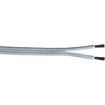 Speaker cable 2 x 0.75 mm² White Hama 8