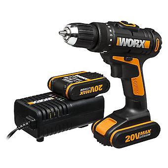 Worx Drill 2 Battery Lithium-lon 12v 2Ah (DIY , Tools , Power Tools , Screwdrivers)