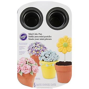 Mini bloem Pot Cake Pan-6 holte 14
