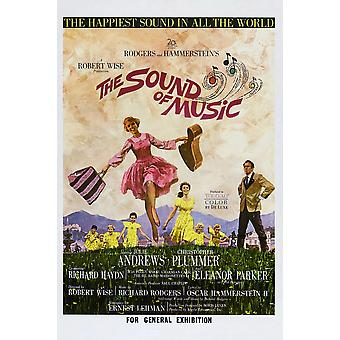 The Sound Of Music Australian Poster Julie Andrews Christopher Plummer 1965 Tm And Copyright  20Th Century-Fox Film Corp Courtesy Everett Collection Movie Poster Masterprint