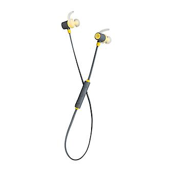 KITSOUND Headphone Outrun Sport Yellow In-Ear wireless Mic
