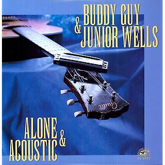 Buddy Guy & Junior Wells - Alone & Acoustic [Vinyl] USA import