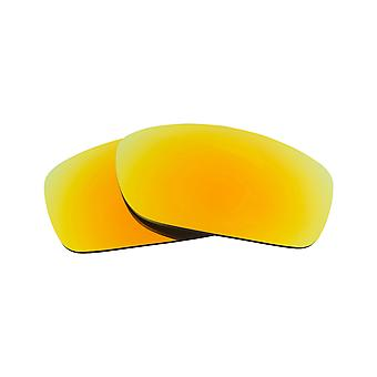 Best SEEK Replacement Lenses for Oakley FIVES SQUARED Radiant Yellow Mirror