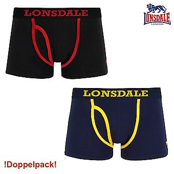 Lonsdale mens boxershort Berrow - Double Pack