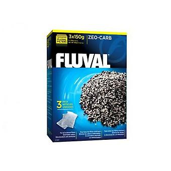 Fluval FLUVAL ZEO-CARB 3x150g (Fish , Filters & Water Pumps , Filter Sponge/Foam)