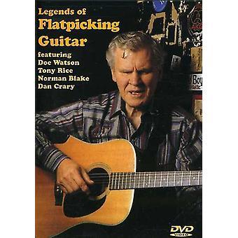 Legender af Flatpicking Guitar [DVD] USA import