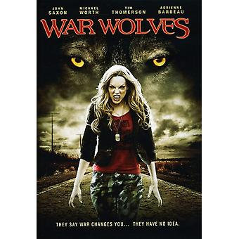 Krigen ulve [DVD] USA importerer