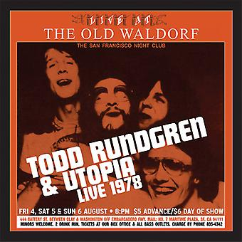 Todd Rundrgen & Utopia - Live at the Old Waldorf [Vinyl] USA import