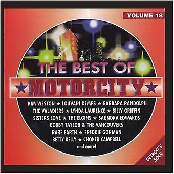 Das beste von Motorcity - Bd. 18-Best of Motorcity [CD] USA import