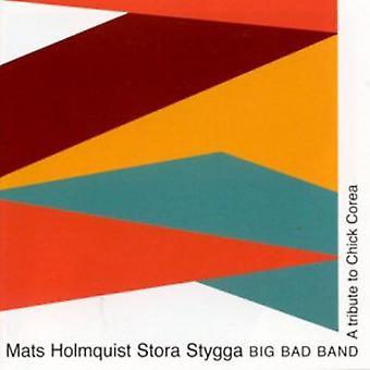 Mats Holmquist & st - hyldest til Chick Regionsudvalget [CD] USA importerer