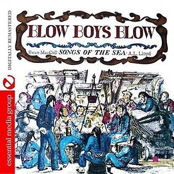 Importación de Ewan Maccoll y a.L. Lloyd - golpe muchachos golpe-canciones de los E.e.u.u. de mar [CD]