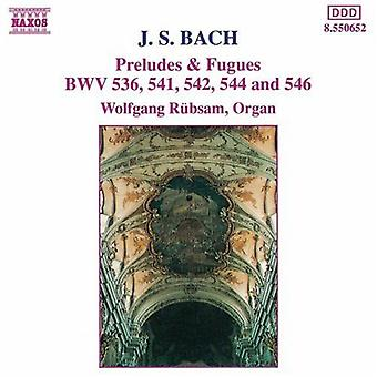 J.S. Bach - Bach: Preludes & Fugues [CD] USA import