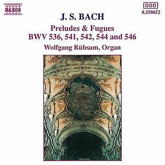 JS Bach - Bach: Preludier & fuger [DVD] USA import