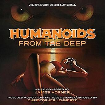 James Horner - Humanoids fra dyb - O.S.T. [CD] USA importerer