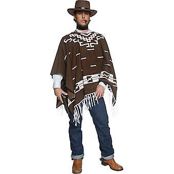 Gunslinger cowboy costume Western gunman poncho men