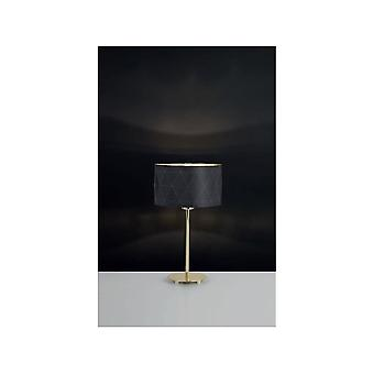 Eglo DOLORITA Dark Drum Table Lamp
