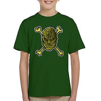 Croc knogler superskurken børne T-Shirt
