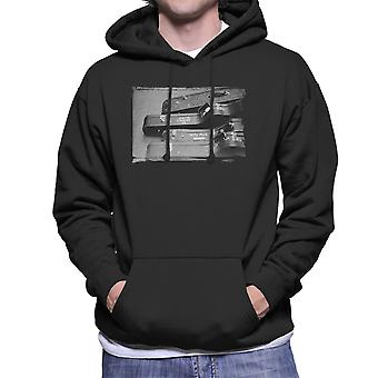 Crosby And Nash Guitars US Tour 1971 Men's Hooded Sweatshirt