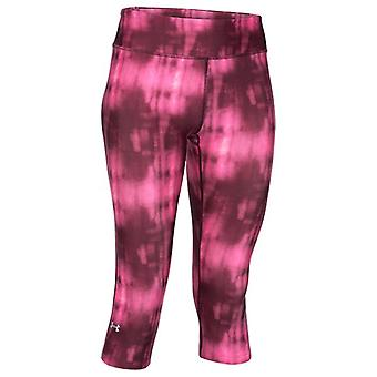 Under Armour HeatGear Womens AW15 Printed Compression Capri Tights