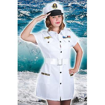 Kvinnor kostymer kvinnor sexig kapten kvinna