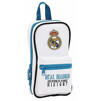 Real Madrid Plumier Mochila Con 4 Portatodo Vacio Real Madrid 17/18