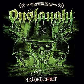 Onslaught - Live at the Slaughterhouse [CD] USA import