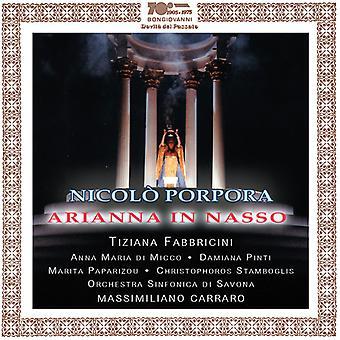 Porpora / Fabbricini / Orch Sinfonica Di Savona - Arianna in Nasso [CD] USA import