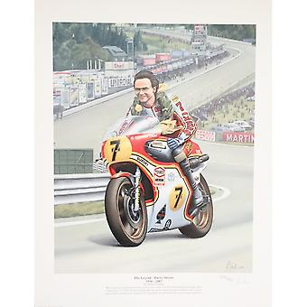 Robert Tomlin The Legend - Barry Sheene By Robert Tomlin