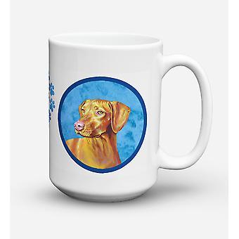 Vizsla  Dishwasher Safe Microwavable Ceramic Coffee Mug 15 ounce