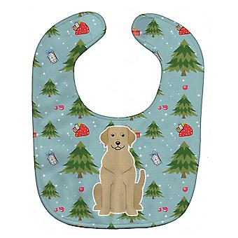 Carolines Treasures  BB4715BIB Christmas Yellow Labrador Baby Bib