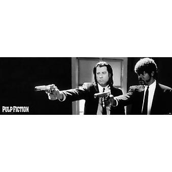 PULP FICTION pistolety plakat Poster Print