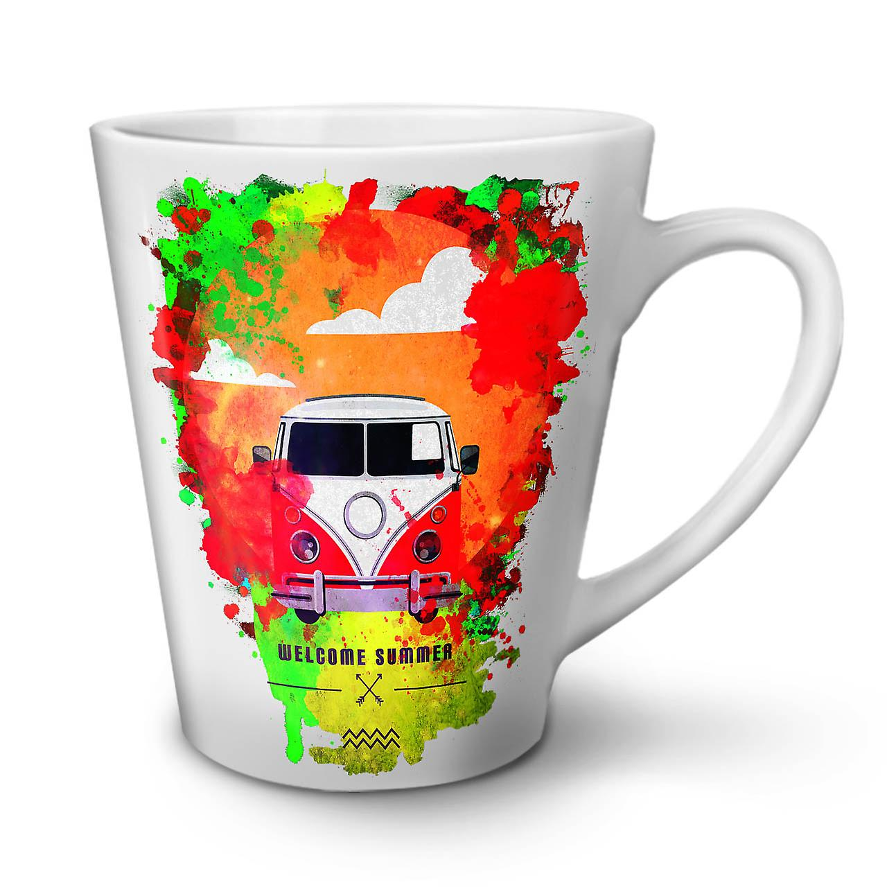 12 Céramique Bienvenue Latte Blanc OzWellcoda Nouveau Vacances Mug Thé Café En mw0N8n