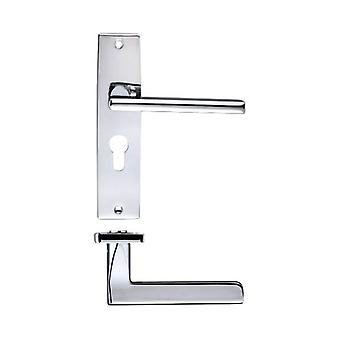 Zoo Venice Lever - Euro Lock - Polished Chrome - ZPZ071EPCP