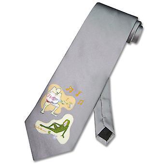 John Lennon 100% silke slips mand kvinde Star Logo mænds slips