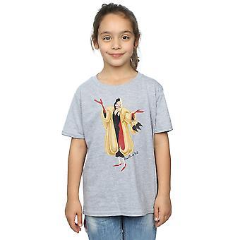Disney Girls 101 Dalmatians Classic Cruella De Vil T-Shirt