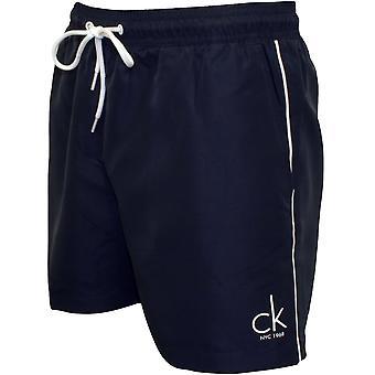 Calvin Klein CK NYC Klassiker Swim Shorts, Navy