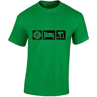 Eat Sleep Drunk Mens T-Shirt 10 Colours (S-3XL) by swagwear