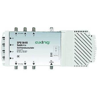 SAT multiswitch Axing SPU 56-05 Inputs (multiswitches): 5 (4 SAT/1 terrestrial