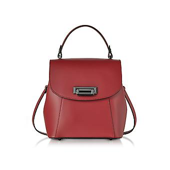 Le Parmentier ladies 050RED red leather backpack