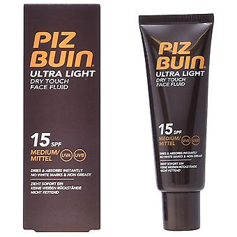 Piz Buin Ultra Light Dry Touch Face Fluid 50 ml (Cosmetics , Body  , Sun protection)